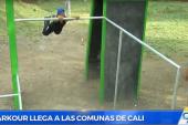 Capital del Valle estrena escenario deportivo para el parkour