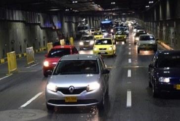 Cierre temporal del túnel Avenida Colombia por mantenimiento