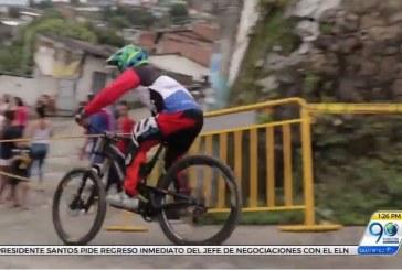 Deportistas extremos convirtieron la ladera de Cali en una pista de carreras