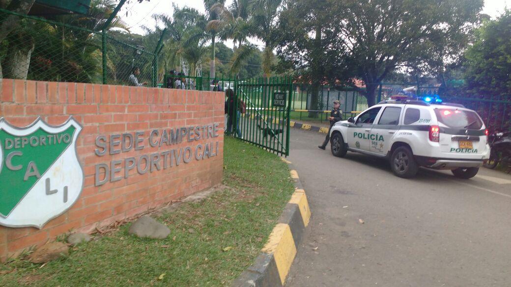Un guarda herido dejó incursión delincuencial a sede campestre del Deportivo Cali