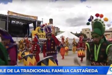 Con el Desfile de la Familia Castañeda, continúa el Carnaval de Pasto