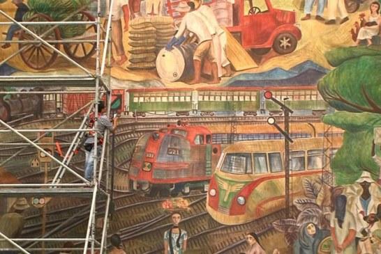 Dos murales del maestro Tejada serán restaurados para revivir la historia de Cali