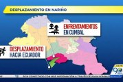 Choques de grupos armados en sur de Nariño provoca desplazamientos a Ecuador