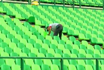 Video: Así ponen a punto el estadio de Palmaseca para el inicio de la Liga Águila 2018
