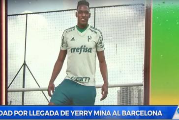 Guachené, Cauca celebra por lo alto llegada de Yerry Mina al Barcelona