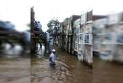 Inundaciones amenazan cementerio en el norte del Chocó