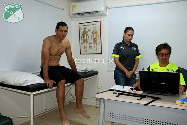 José 'Pepe' Sand llegó a Cali y presentó exámenes médicos este lunes