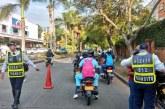 Inician las sanciones a motociclistas que no usen bien el casco