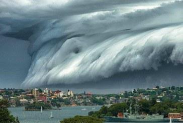 ¡De película! La nube negra que causó pánico entre los habitantes de Sidney