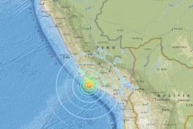 Terremoto en Perú deja al menos dos muertos y 65 heridos