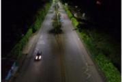 En Avenida Cañasgordas fueron instaladas 513 luminarias LED