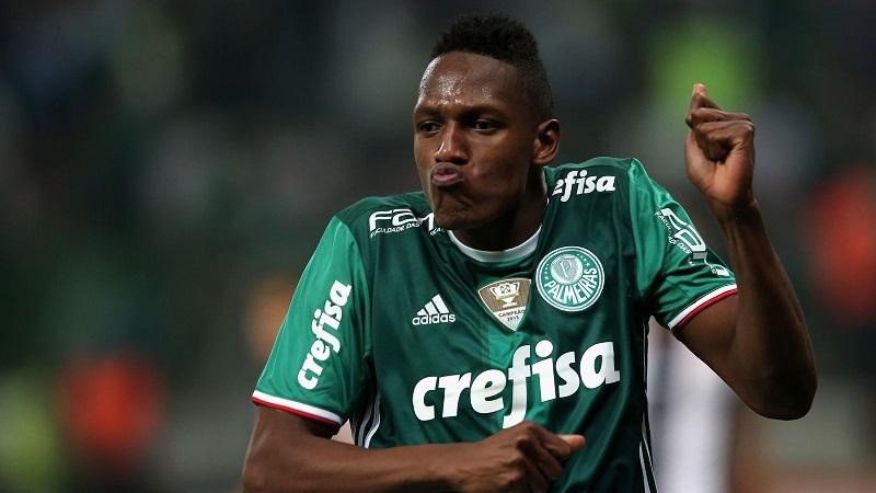 Yerry Mina y Palmeiras a la espera de una mejor oferta del Barcelona de España