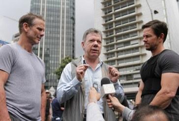 Esta es la película que el actor Mark Wahlberg filma en Colombia