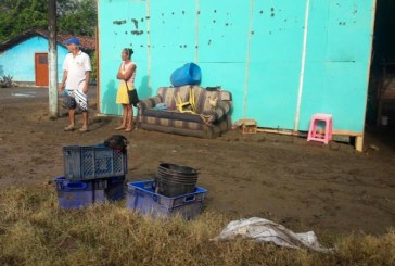 Cerca de 100 familias afectadas dejó creciente de quebrada Mediacanoa, en Yotoco