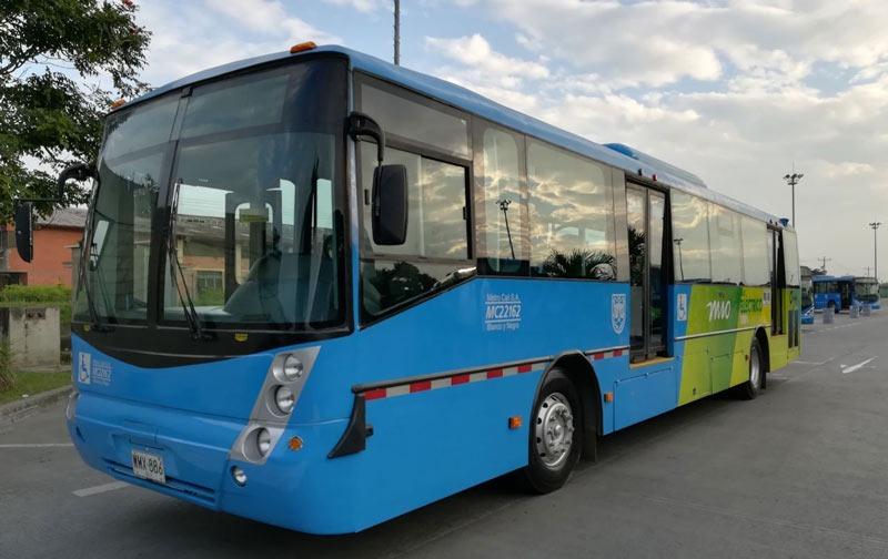 Primer bus eléctrico del Mío ya está rodando por la ciudad de Cali
