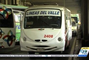 Comenzará señalización para paradas únicas de buses intermunicipales en Cali
