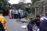 Una persona muerta y varias heridas dejó accidente de bus que cubría la ruta Cali- Pasto