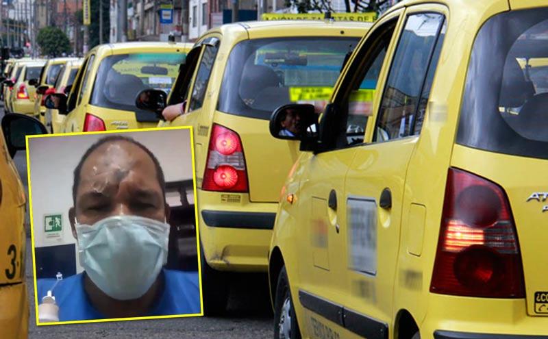 Por robarlo, pasajero le propinó puñalada en la frente a taxista que lo trasportaba