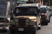Protesta de camperos por cancelación de tarjetas de operación en la Portada al Mar