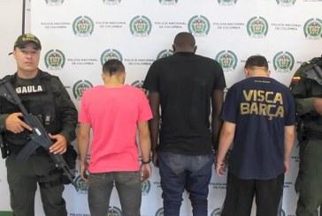 Capturados integrantes de la banda 'Los correcaminos' dedicada a extorsionar en Cali