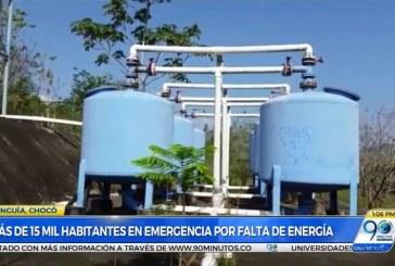 Seis días sin energía completan más de 15 mil habitantes de Unguía, Chocó