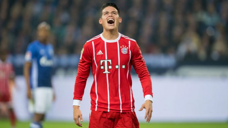 Heynckes confirma lesión de James Rodríguez y será baja del Bayern Munich