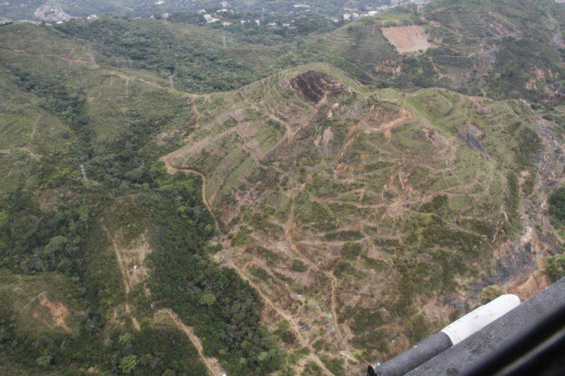 Dagma anunció que no permitirá asentamientos en el cerro de La Bandera