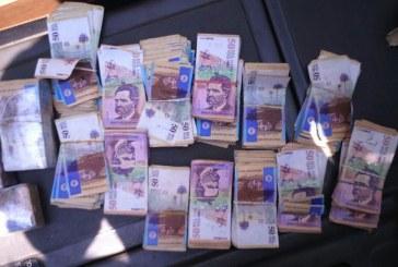 En terminal de Cali decomisan 172 millones de pesos a mujer procedente de Bogotá