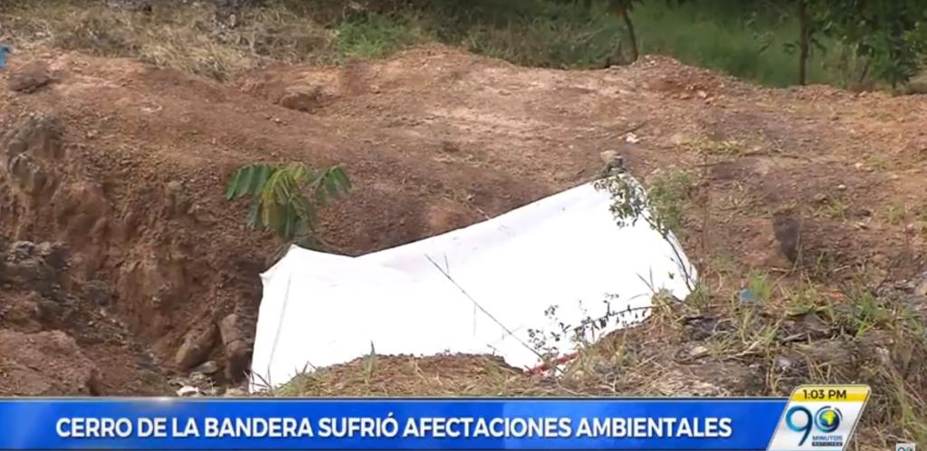 Deterioro y lotes demarcados dejan ocho días de intento de toma a cerro de La Bandera