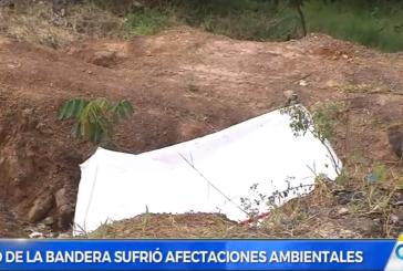 Deterioro y lotes demarcados dejan los 8 días de intento de invasión al cerro de La Bandera
