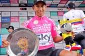 Egan Bernal, con 21 años, se coronó campeón de la Colombia Oro y Paz