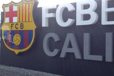 FC Barcelona inició entrenamientos en su nueva escuela de formación en Cali