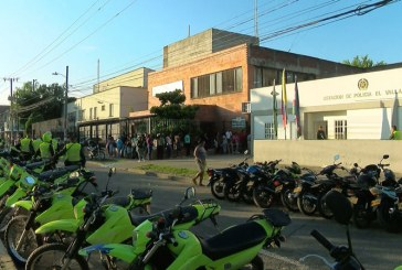 Esmad controló intento de motín en estación de policía barrio El Vallado, oriente de Cali