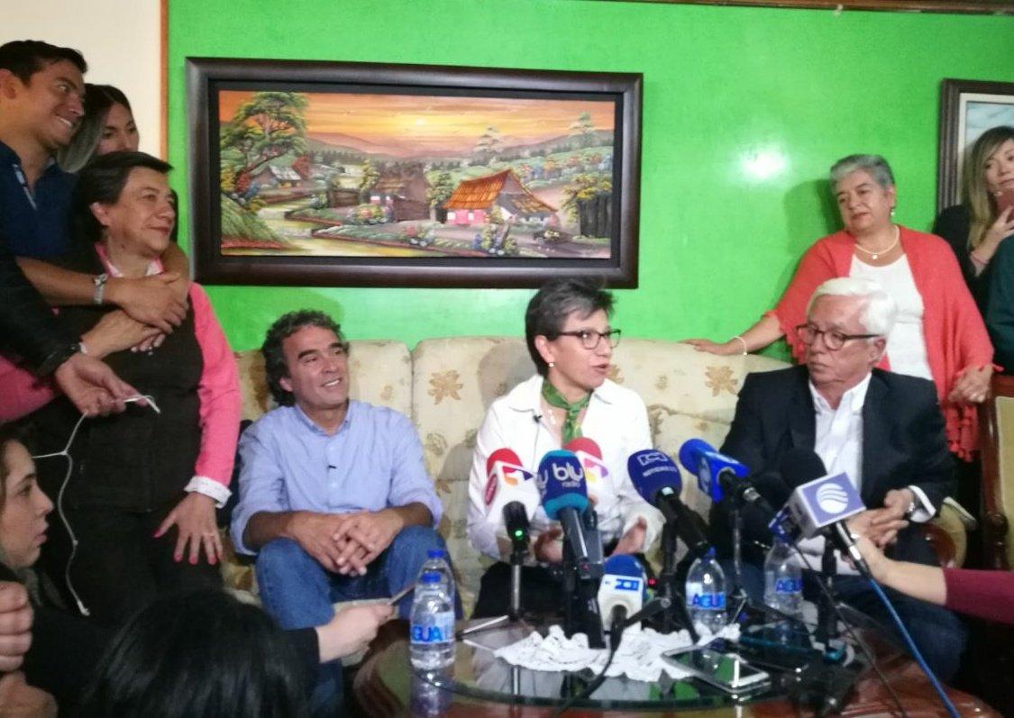 Claudia López es nombrada fórmula vicepresidencial de Sergio Fajardo