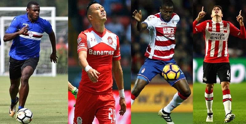 Fin de semana lleno de goles colombianos en el fútbol internacional