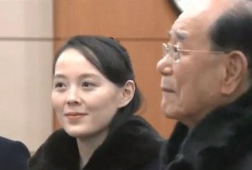 Histórico saludo de hermana de Kim Jong-un en Corea del Sur