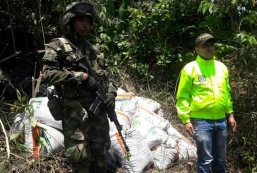 Incautan material explosivo perteneciente al ELN en el departamento de Nariño