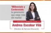 La UAO debate sobre los nuevos retos de los 'Millennials' y 'Centennials'