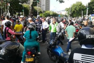 Con movilización, motociclistas de Cali rechazan alto costo del Soat y tecnomecánica