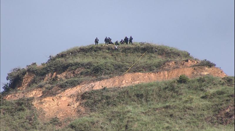 Habitantes preocupados por un caso de invasión en la zona verde del acceso al Cerro de la Bandera