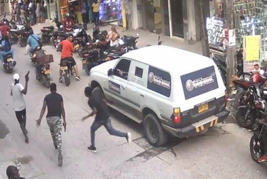 Escolta confundió grabación de película en Quibdó con atraco y disparó contra 3 actores