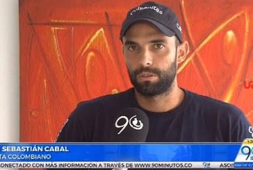 De visita en Cali, el tenista Juan Sebastián Cabal prepara su gira sudamericana
