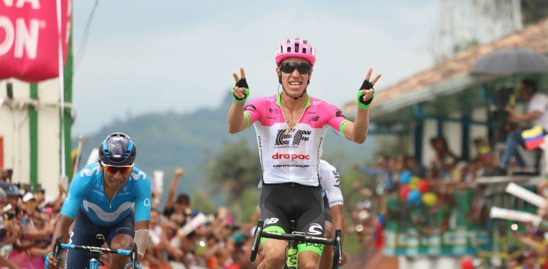 Rigoberto Urán ganó quinta etapa de la Carrera Oro y Paz. Nairo Quintana, nuevo líder