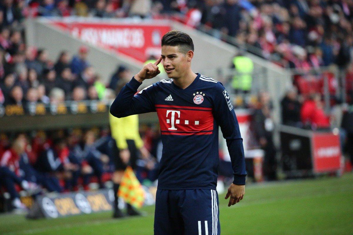 Video: James marcó tremendo golazo en el partido disputado ante el Mainz