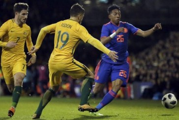 Colombia logró un buen empate ante Australia en amistoso internacional