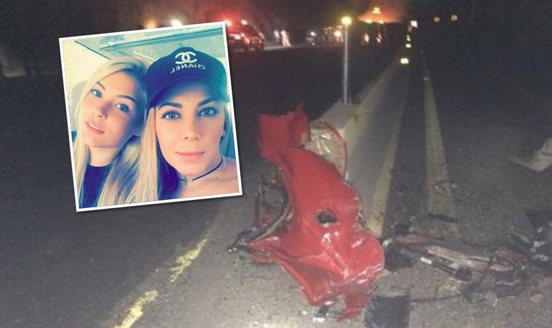Colombianas mueren en aparatoso accidente de un vehículo Ferrari en México