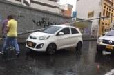 Congestiones y emergencias dejaron fuertes lluvias en el norte de la ciudad