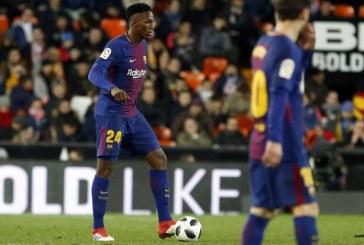 La 'chepa' de Yerry Mina que se convirtió en el quinto gol de Barcelona al Villareal