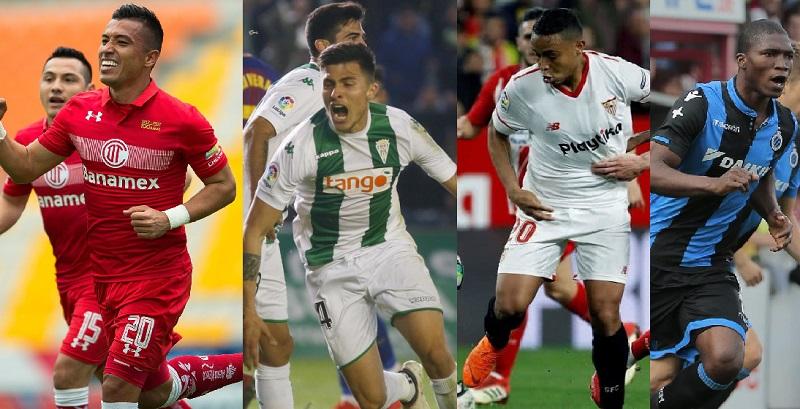 Así le fue a los jugadores colombianos en las diferentes ligas del mundo