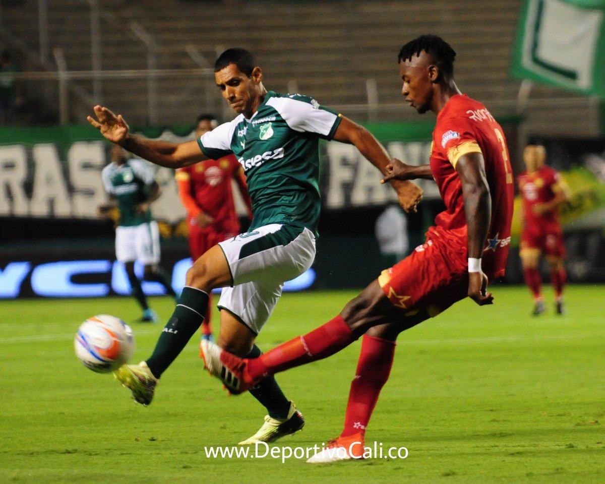 Deportivo Cali derrotó a Rionegro Águilas con 4 goles a cero en Palmaseca